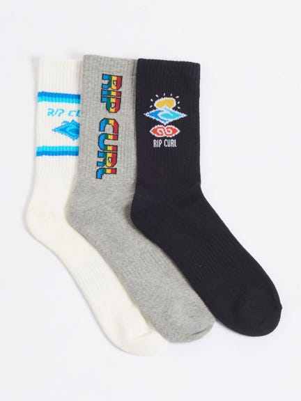 CALCETINES ICONS SOCK 3-PK
